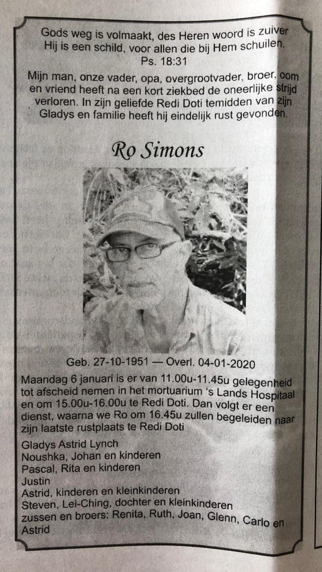 Romeo Simons