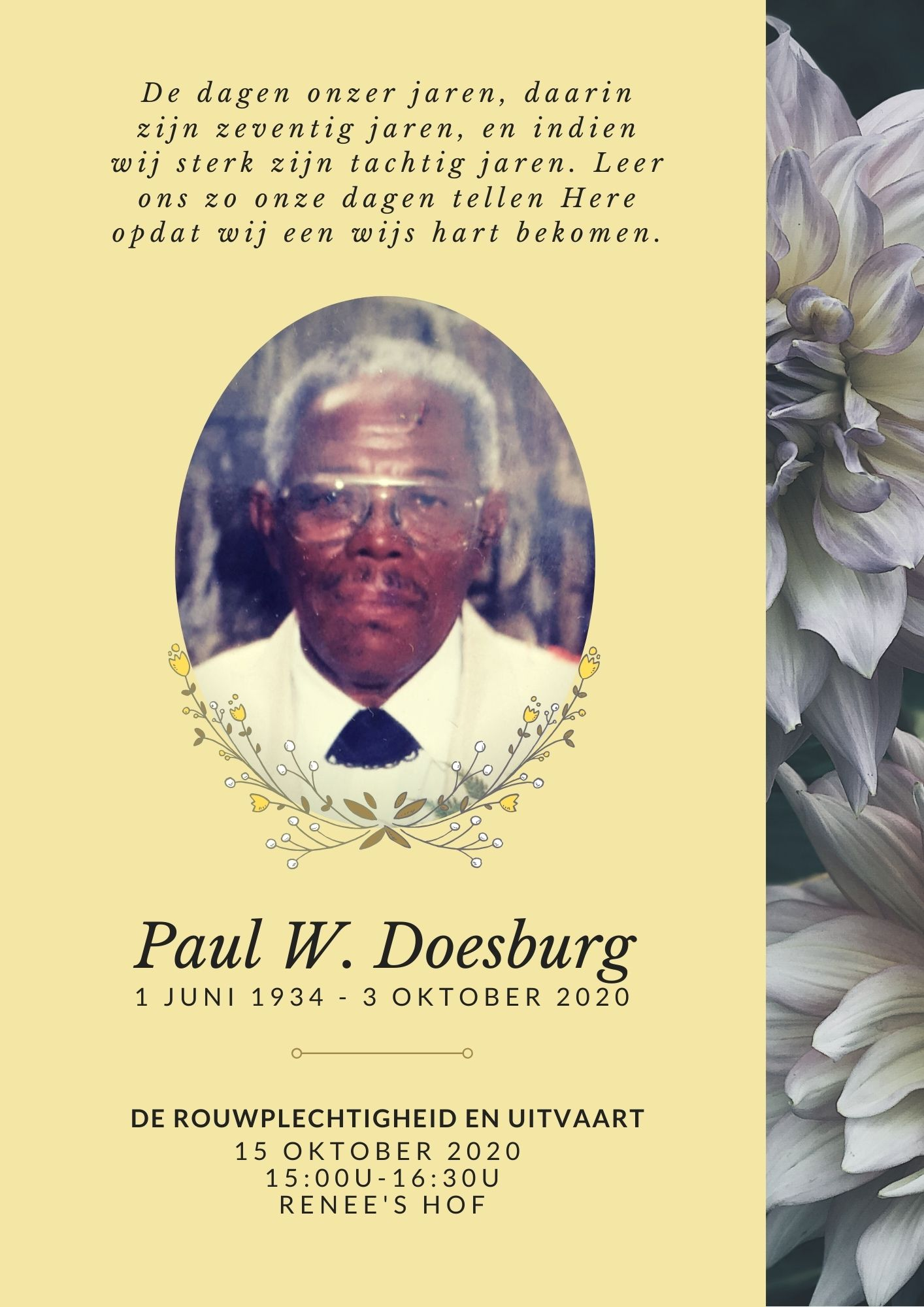 Paul Wilfred Doesburg