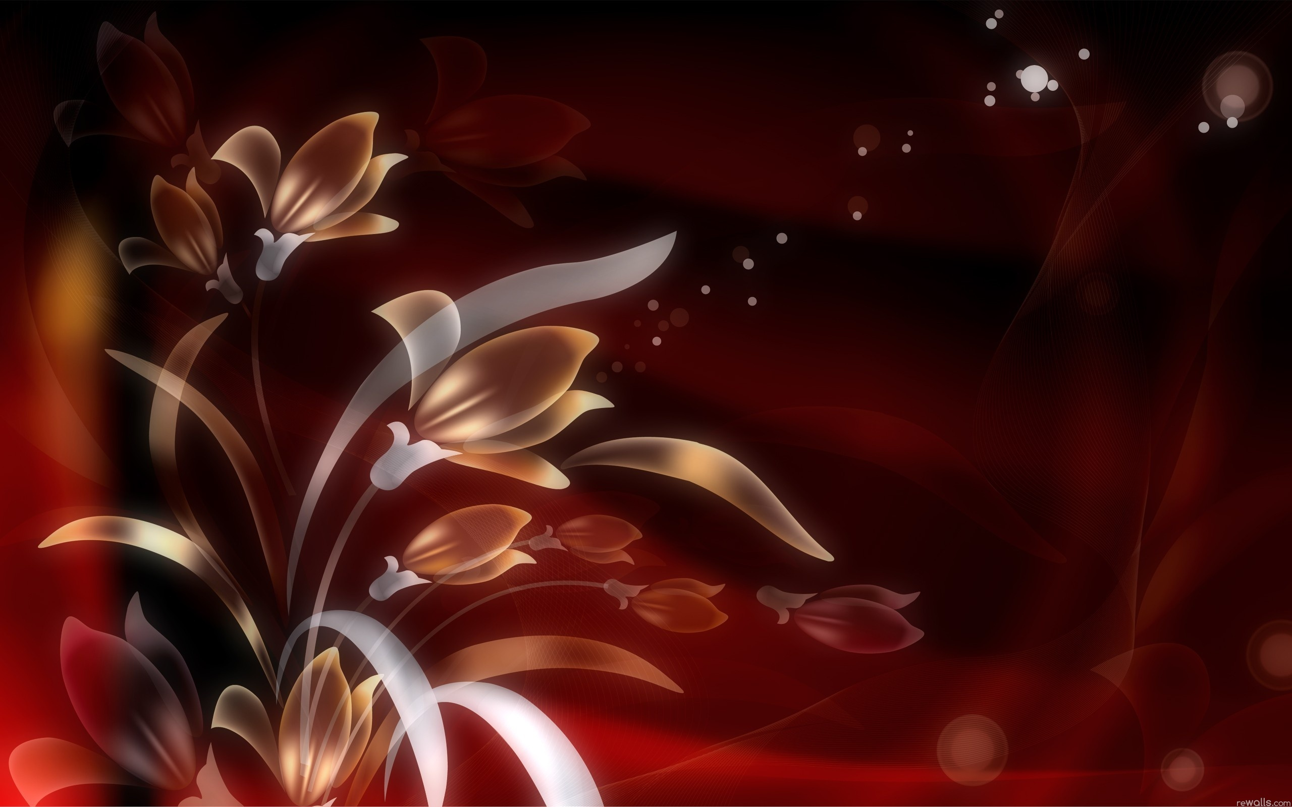 amazing red flower wallpapers - photo #31
