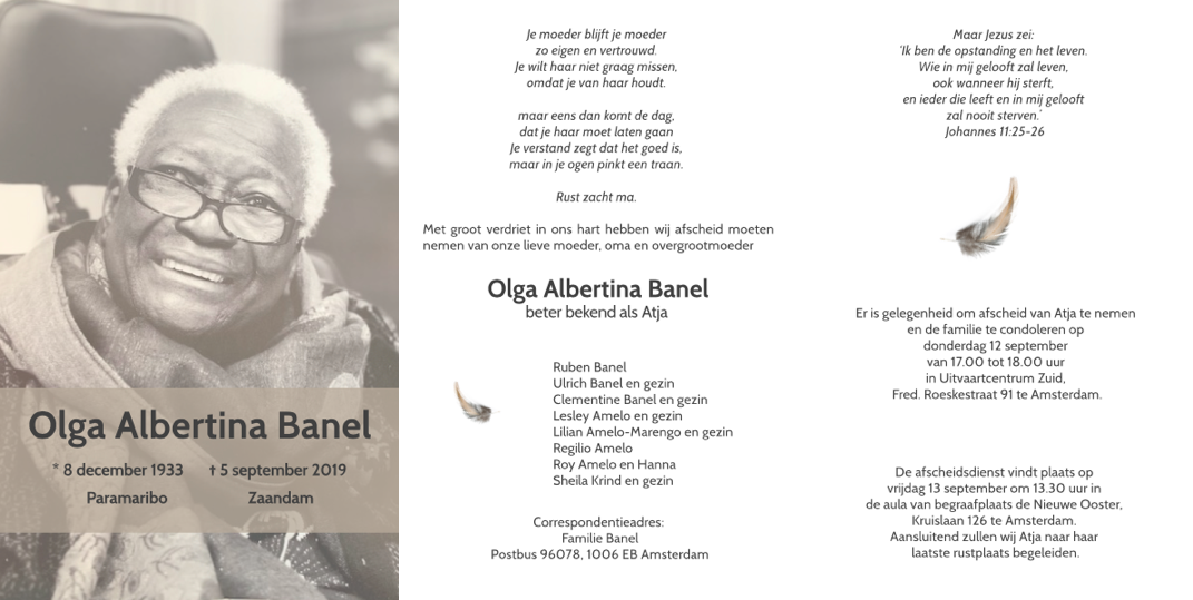 Olga Albertina 'Atja' Banel
