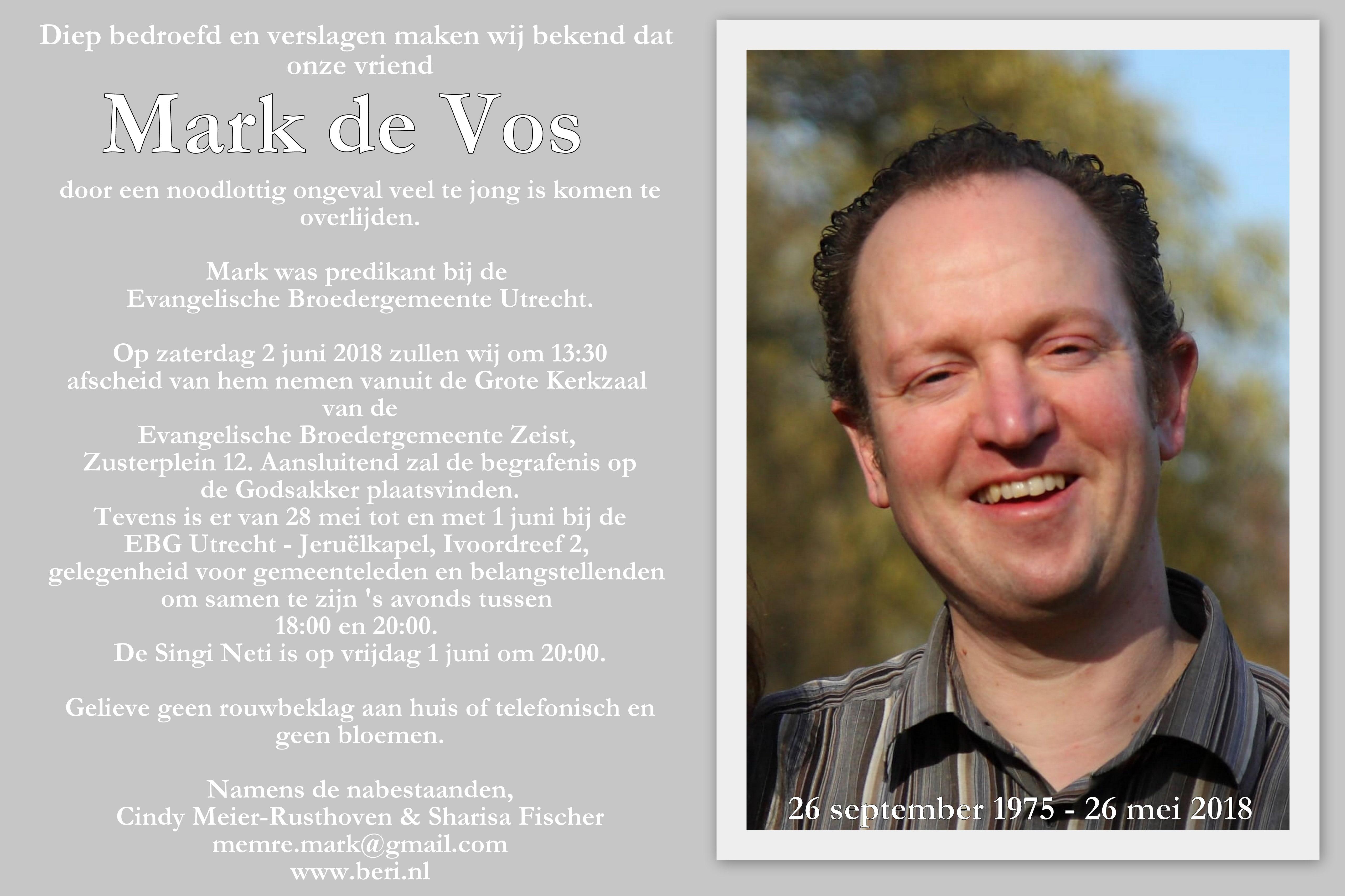 ds. Mark de Vos