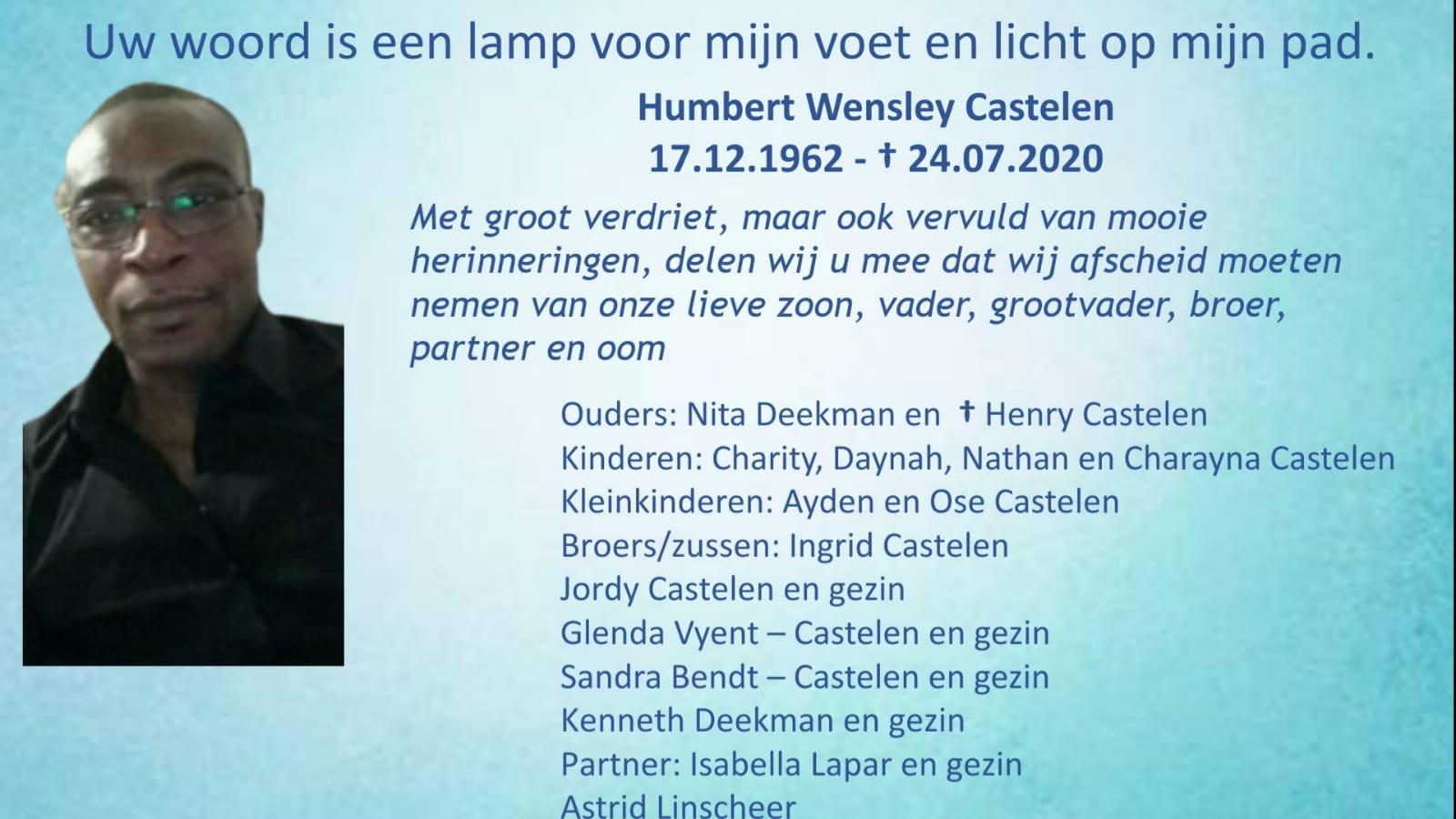 Humbert Wensley Castelen